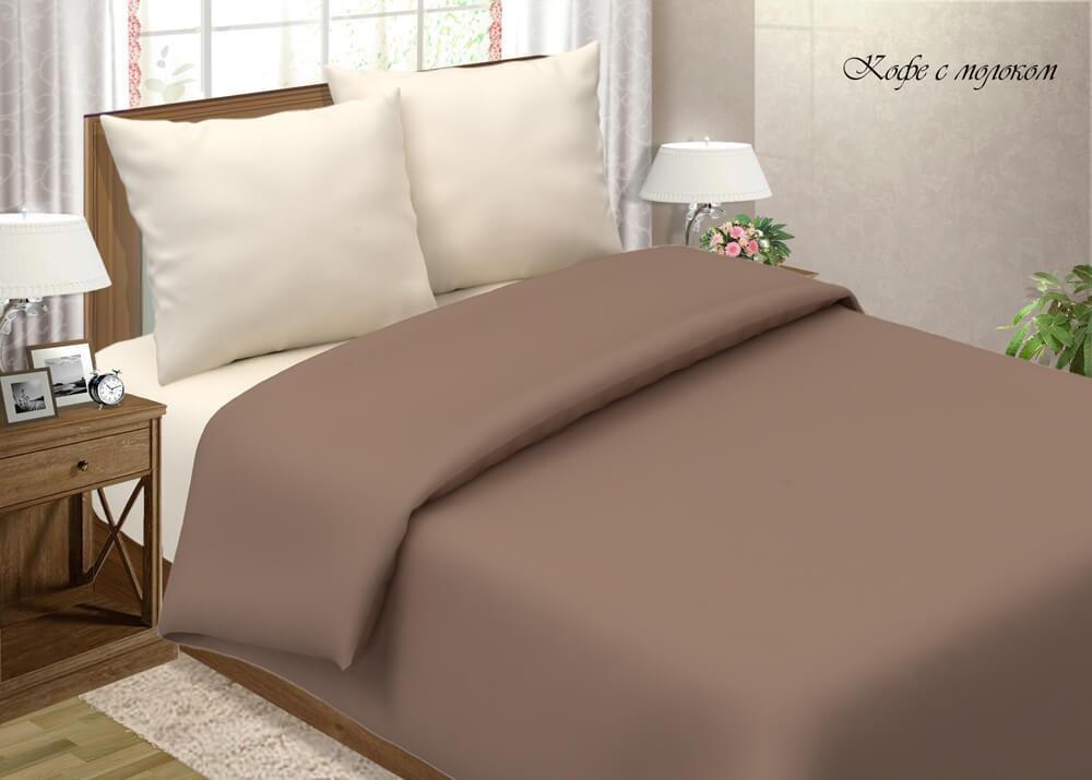 """Комплект постельного белья """"Камея поплин. Мокко"""""""