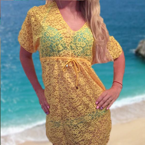 Модные Пляжные Туники С Доставкой