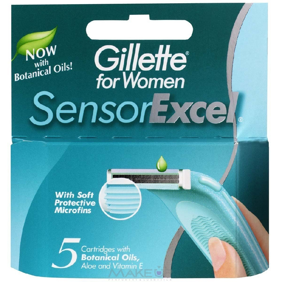 Кассета SENSOR EXCEL For Women 5шт.*1/10(ЖИЛЕТТ)
