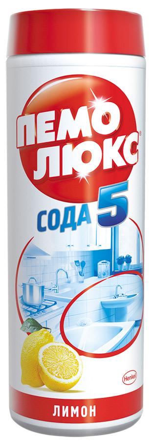 Пемолюкс 480гр. Лимон ( СИЛА-5 сода-эффект ) 6/36 арт.0627 чистящее средство